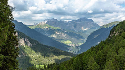 Photograph - Mountain View, Trentino by Andreas Levi