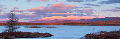Photograph - Mountain Views Over Cherry Pond by Jeff Sinon