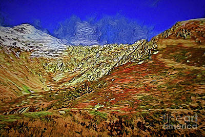 Painting - Mountain Vista A18-35 by Ray Shrewsberry