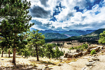 Photograph - Mountains Across The Way by James L Bartlett