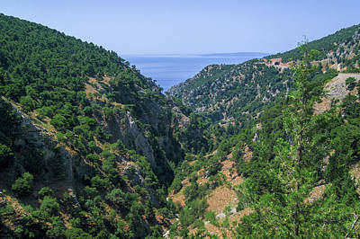 Photograph - Mountains On The South Coast Of Crete by Sun Travels