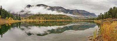 Photograph - Mountainside Reflections by Leda Robertson