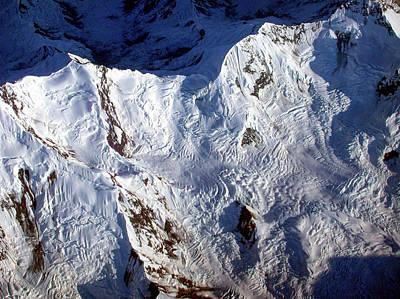 Mountaintop Snow Art Print