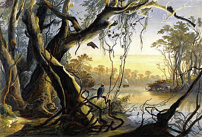 Painting - Mouth Of The Fox River  by Sigismond Himely