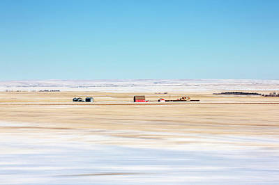 Photograph - Movement And Snow by Todd Klassy