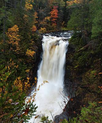 Photograph - Moxie Falls by Rick Hartigan
