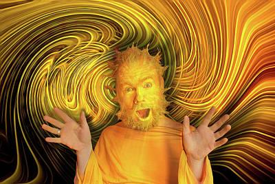 Digital Art - Mr. Sun by Lisa Yount