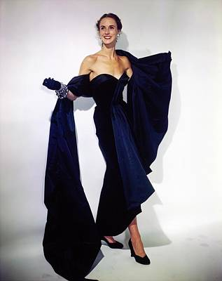 Photograph - Mrs. Amory S. Carhart Jr. In Dior by Horst P. Horst