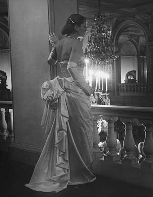 Photograph - Mrs. Jacques Fathjacques Fath Misc by Nina Leen