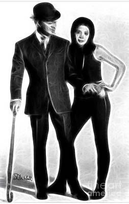 Digital Art - Mrs. Peel, We're Needed by Stephen Mitchell
