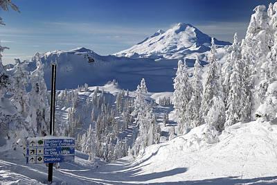Photograph - Mt Baker Ski Area by Curt Remington
