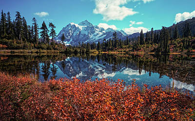 Photograph - Mt Baker by Thomas Hall