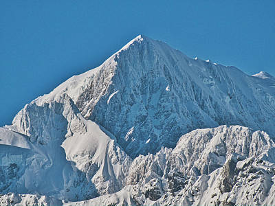 Photograph - Mt Cook - New Zealand Alps by Steven Ralser