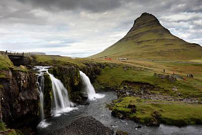 Photograph - Mt Kirkjufell And Kirkjufellsfoss In Grundarfjordur by RicardMN Photography