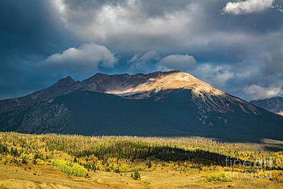 Photograph - Mt. Silverthorne by Jon Burch Photography