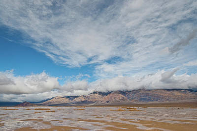 Photograph - Mud Flats In Panamint Valley by Jeff Goulden