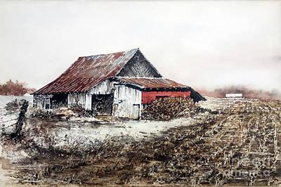 Painting - Mud Season by Monte Toon
