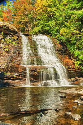 Photograph - Muddy Creek Falls by Paul Croll