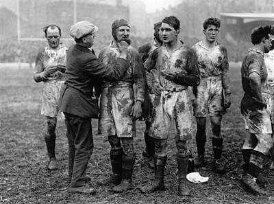 Photograph - Muddy Players by Hulton Collection