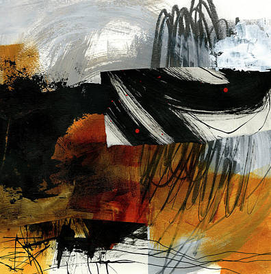 Collage Painting - Muddying The Waters #2 by Jane Davies