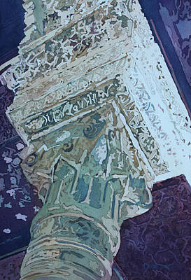 Painting - Mudejar Capital One by Jenny Armitage