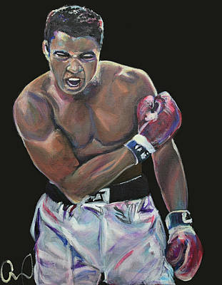 Painting - Muhammad Ali by Christina Carmel