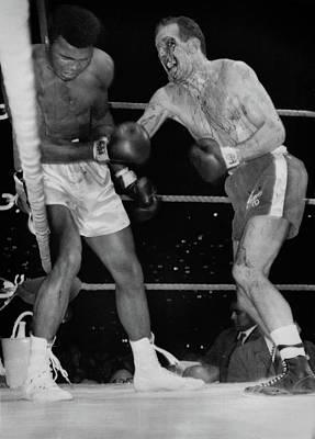 Photograph - Muhammad Ali Vs. Henry Cooper  by Doc Braham