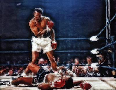 Photograph - Muhammad Ali Vs Sonny Liston by Doc Braham