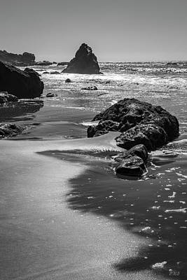 Photograph - Muir Beach IIi Bw by David Gordon