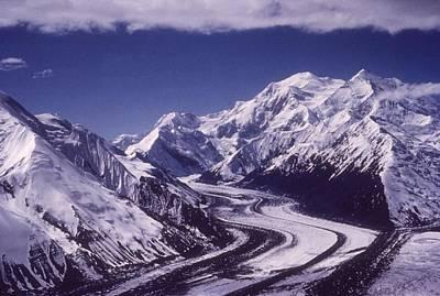 Muldrow Glacier Art Print by Hulton Archive