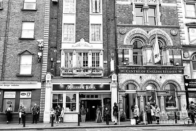 Photograph - Mulligan And Haines On Dame Street Dublin by John Rizzuto