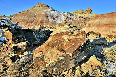 Photograph - Multi-colored Ruby Mountain by Ray Mathis