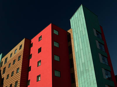 Photograph - Multicolored Apartment Block by Mouse-ear
