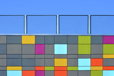Photograph - Multicolour Wall by Stuart Allen
