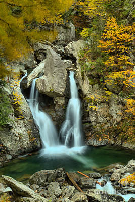 Photograph - Multiple Streams At Bash Bish Falls by Adam Jewell