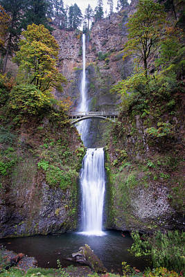 Photograph - Multnomah Falls 110718 by Rospotte Photography