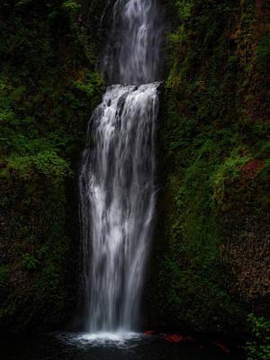 Photograph - Multnomah Falls 2 by Thomas Hall
