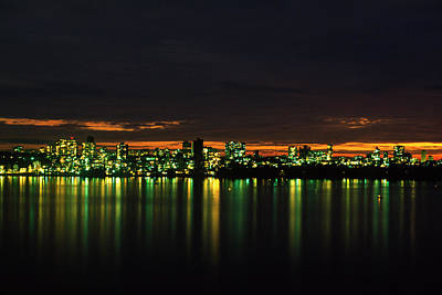 Photograph - Mumbai At Night by Ooyoo