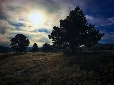 Photograph - Murky Atmosphere Elk Meadow by Dan Miller