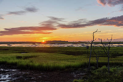 Photograph - Murrells Inlet Sunrise - August 4 2019 by D K Wall