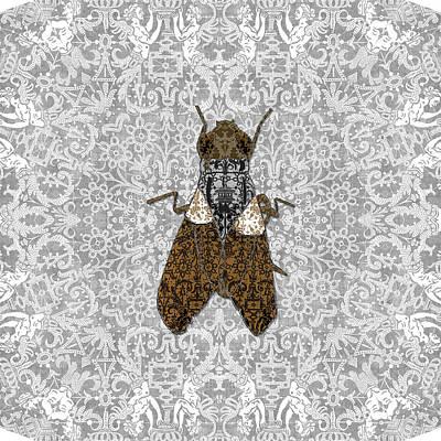 Digital Art - Musca Domestica by Diego Taborda