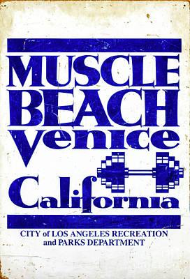 Photograph - Muscle Beach Venice California by John Rizzuto
