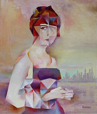 Painting - Muse by Vlad Zabavskiy