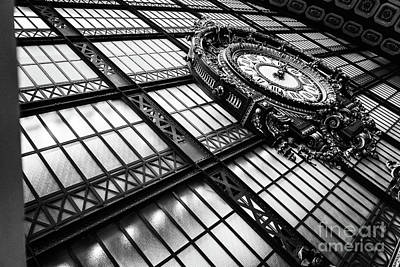 Photograph - Musee D'orsay Clock by Miles Whittingham
