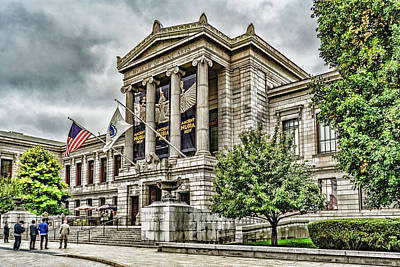 Photograph - Museum Of Fine Arts Boston by Sharon Popek