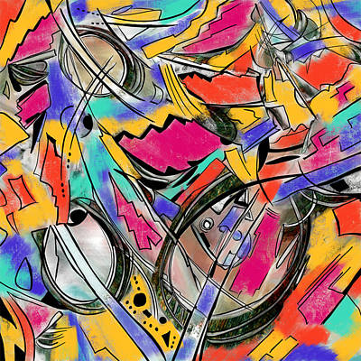 Painting - Music Energy by Diane Liberty