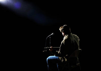 Photograph - Music Performer On Stage by Jan Stromme