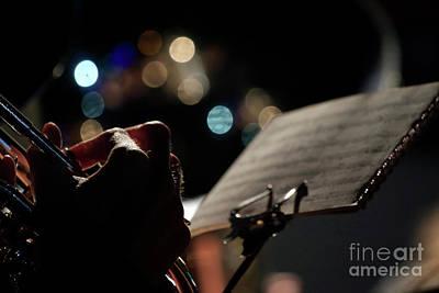Photograph - Musical Bokeh by Terri Waters