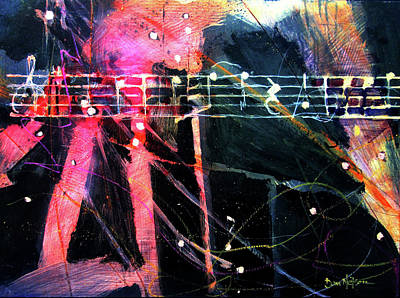 Painting - Musical Ghosts by Dan Nelson