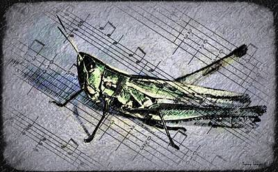 Digital Art - Musical Hopper  by Wesley Nesbitt